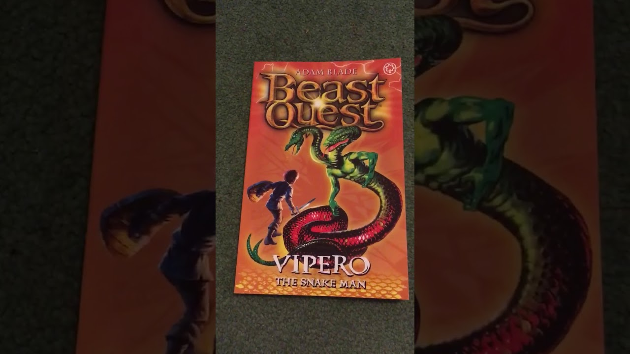 beast quest 10 vipero  youtube