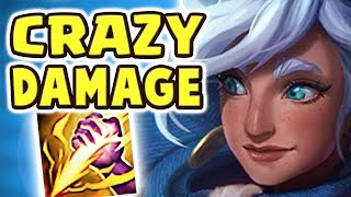 THE DAMAGE IS INSANE | FULL AP TALIYAH JUNGLE NEW META | HOW IS THIS ACTUALLY OP?? Nightblue3