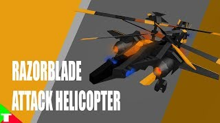 ROBLOX- Plane Crazy [Alpha] [Tutorial] RazorBlade Attack Helicopter