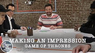 Making an Impression: Game of Thrones Pt. 1