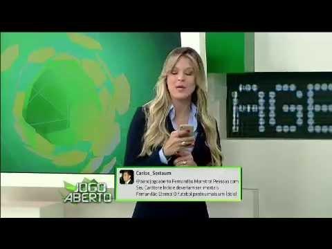 Renata Fan Chora Ao Vivo Ao Ler Depoimento Para Fernandao Jogo Aberto Youtube