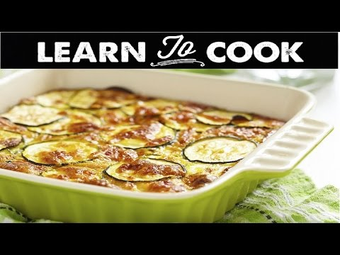 How To Cook Baked Zucchini