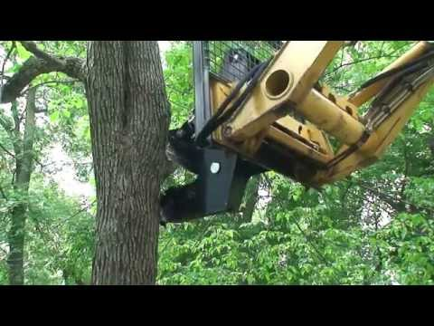 Skid Steer Tree Shear Attachment | Triple S Attachments