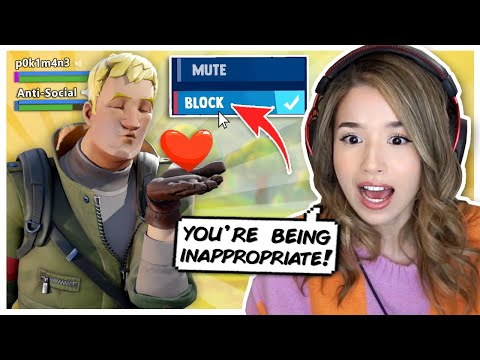 Pokimane BLOCKS Kid on Fortnite! Chapter 2 Season 11 Random Duos!