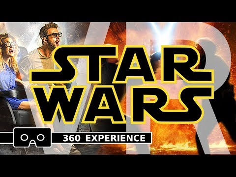 STAR WARS VR ( 4D Movie Theater 360 Experience )