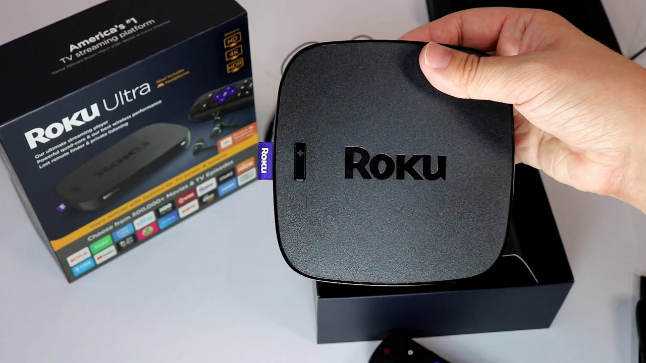 Roku Ultra 2018 vs Roku Ultra 2017 - Unboxing & User Speed Test