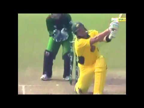Shane Watson World Record 15 Sixes vs Bangladesh 2011