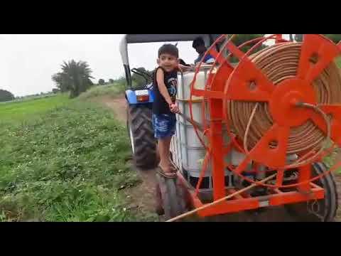 Satv operat tractor spray pump