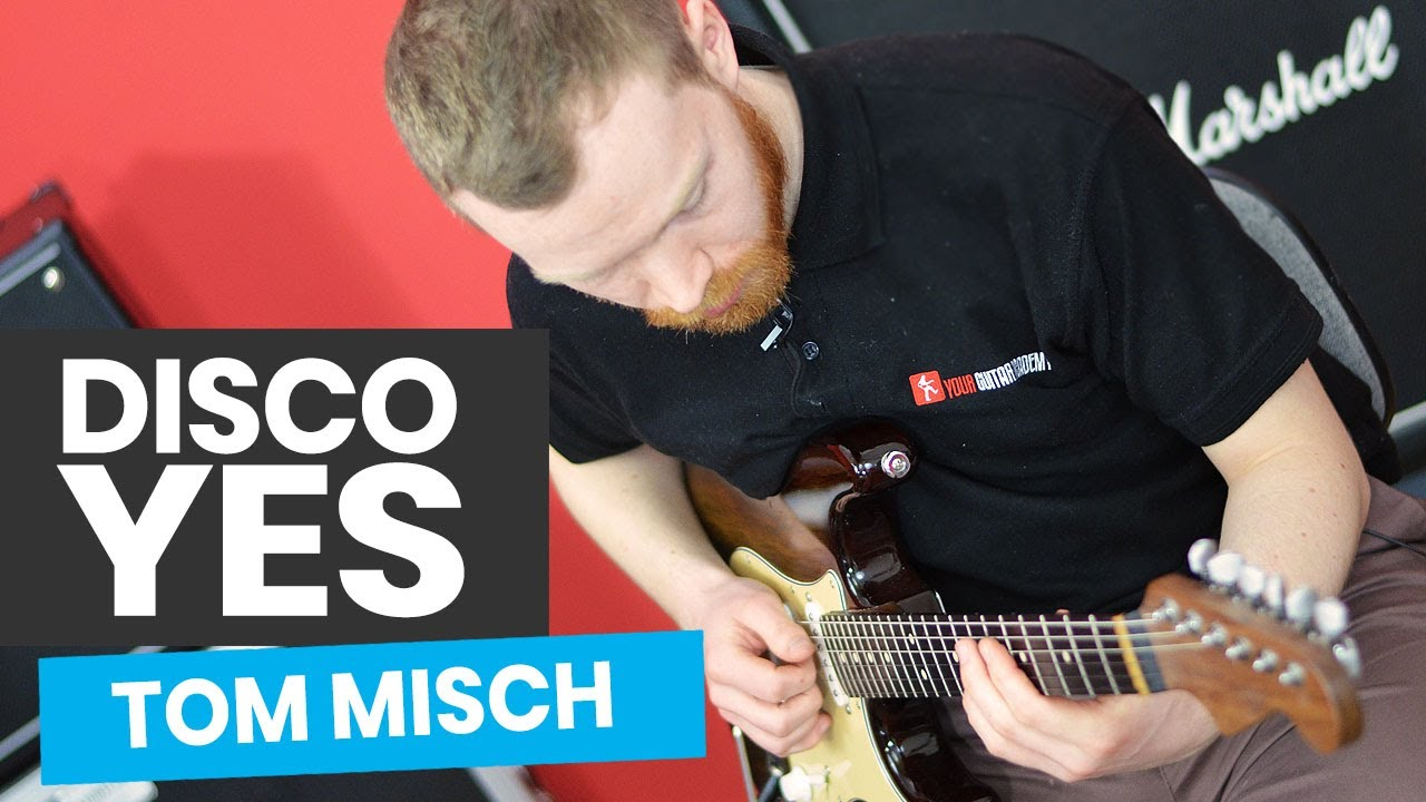Disco Yes Guitar Lesson - How to Play Disco Yes by Tom Misch