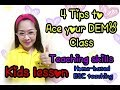 Tips for Online Demo Teaching (ESL) (Tagalog/English)