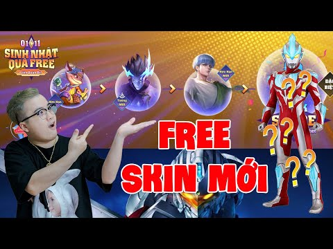 Liên quân Free 3 trang phục mới Enzo xử nữ và Ultralman ? sinh nhật 4 tuổi quá khủng TNG