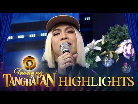 Tawag ng Tanghalan: Vice sings a sexy version of I Love You Boy