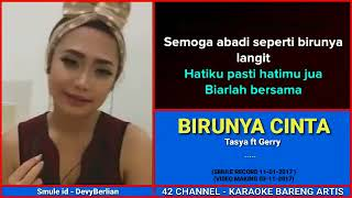 Download Mp3 Birunya Cinta   Karaoke No Vokal Cowok