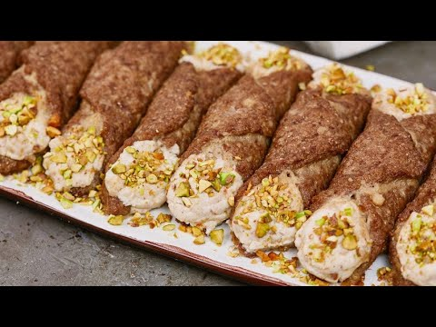 Meat cannoli a tasty and surprising idea