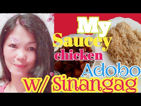 My Saucey Chicken Adobo//How i cook my chicken adobo//ofw saudi