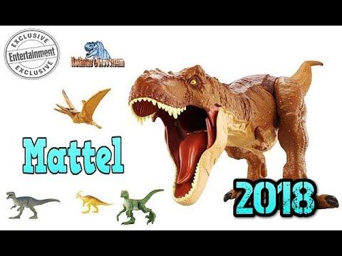 Mattel 2018 Jurassic Park Jurassic World Dinofiguren Was