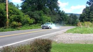 1967 Ford Fairlane BURNOUT