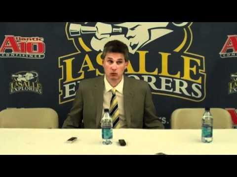 La Salle Postgame Press Conference vs. Binghamton ...