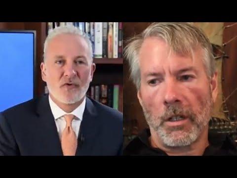 Peter Schiff OWNS Michael Saylor In HEATED Bitcoin Debate