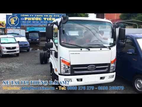 Xe Tải 1t9 Thùng Dài 6m2 | xe tải veam vt260-1 máy isuzu cao cấp. - YouTube