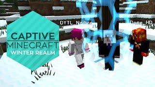 3 Gefangene in einer eisigen Wildnis! Überleben? [Lets Play Captive Minecraft 4 Winter Realm #1]