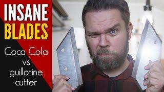 EXPERIMENT: Guillotine Cutter vs Coca Cola Box