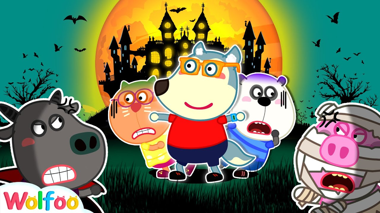 Be Brave, Kids! 🎃 Wolfoo & Funny Stories for Kids About Halloween Night 🎃 Wolfoo Family Kids Cartoon