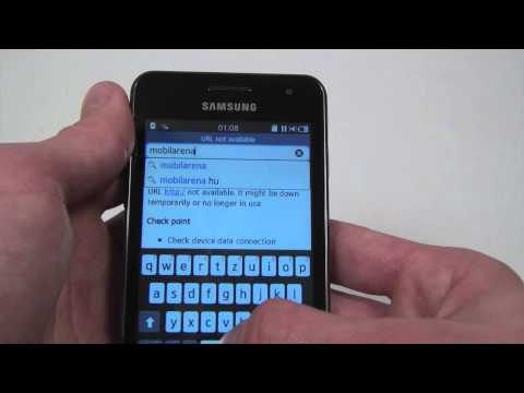 Samsung Wave M hands-on