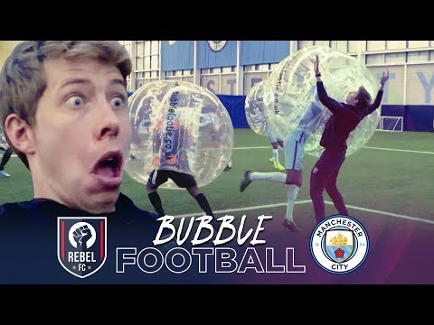 BUBBLE FOOTBALL | Manchester City v Rebel FC
