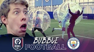 BUBBLE FOOTBALL | Manchester City v Rebel FC