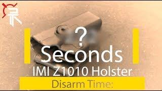 Holster Torture Tests: IMI Z1010 Holster