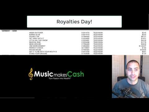 Happy Royalties Day! (For BMI members)