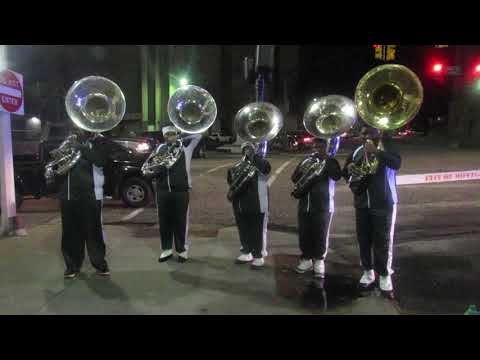 Jefferson Davis Vols Tuba Section | After The Christmas Parade | Montgomery AL | 2018 |