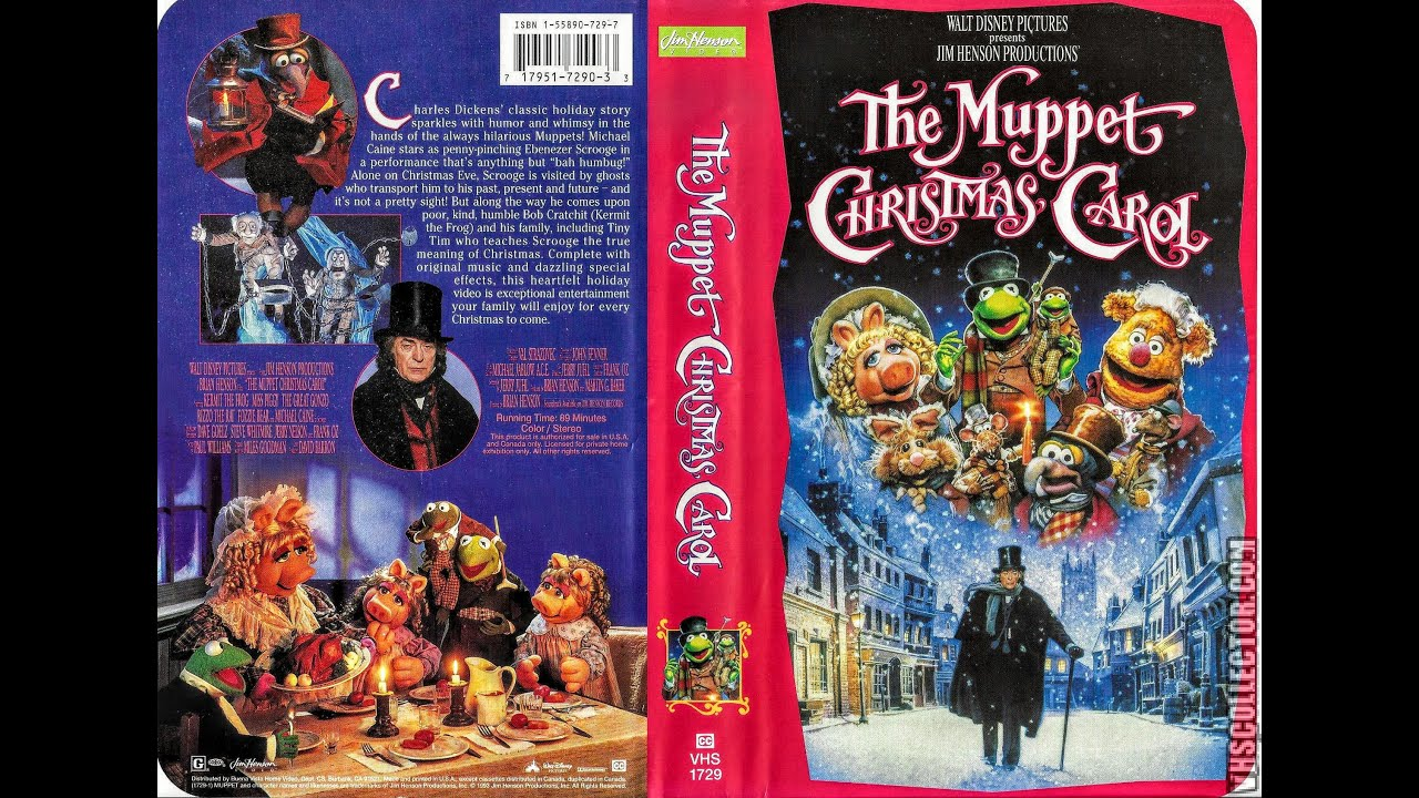 Opening to The Muppet Christmas Carol 1993 VHS (HD) - YouTube