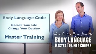 Body Language Master Trainer Course - What You Can Expect