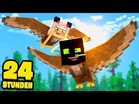 24 STUNDEN als VÖGEL LEBEN?! - Minecraft [Deutsch/HD]