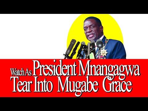 WATCH; President Emerson Mnangagwa Destroy Mugabe Grace #SPECIAL CONGRESS