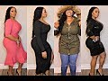 EXPRESS + NEW YORK & COMPANY TRY ON HAUL FOR THICK GIRLS AND CURVY WOMEN
