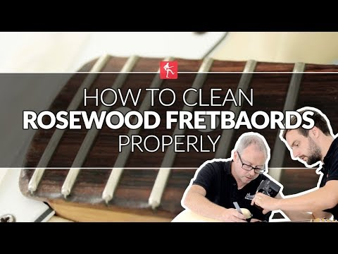 How To Clean Rosewood Fretboards - Guitar Maintenance Lesson