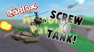 ROBLOX Shenanigans: Armored Patrol - SCREW YO TANK!