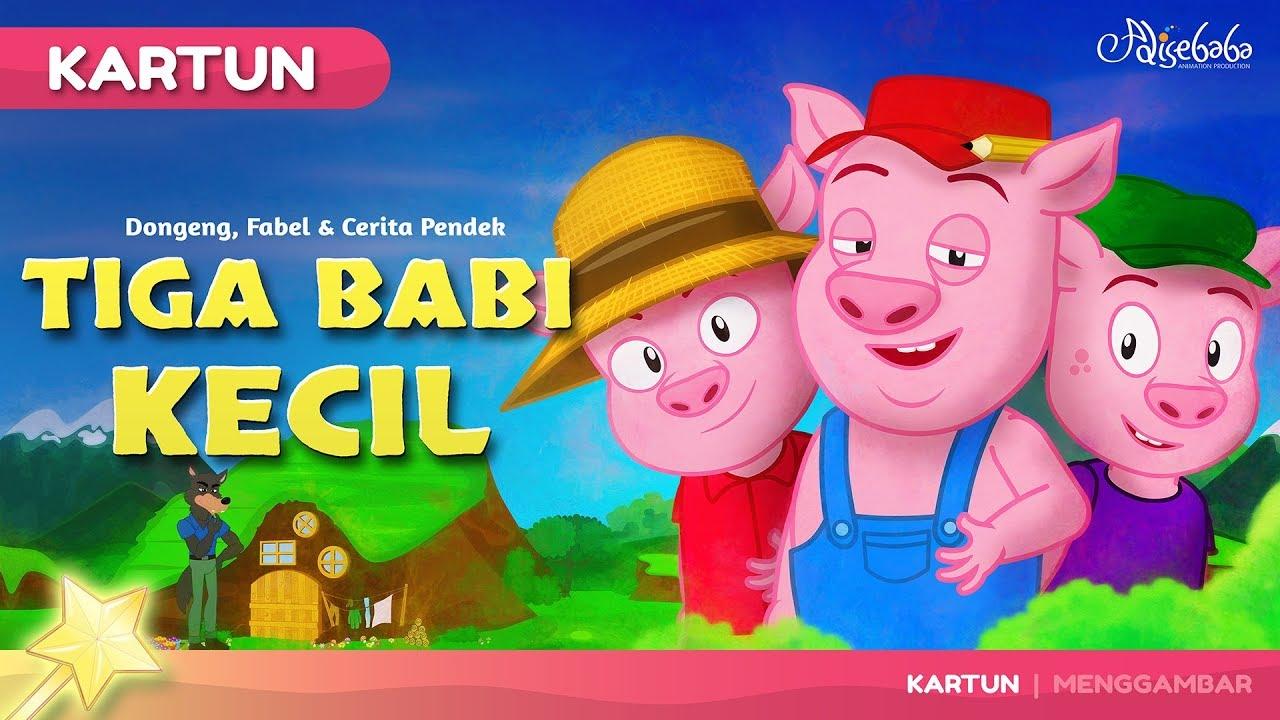 Tiga Babi Kecil Kartun Anak Cerita2 Dongeng Anak Bahasa
