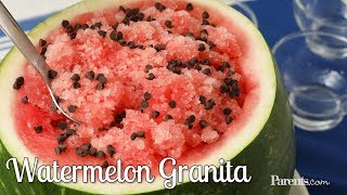 Watermelon Granita | Parents
