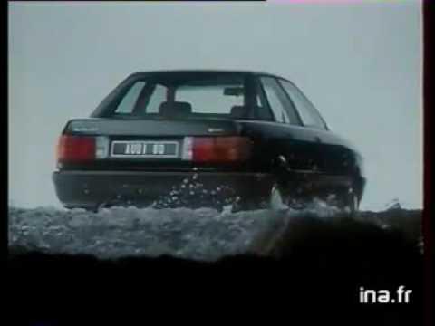 Anuncio Audi 80 1986