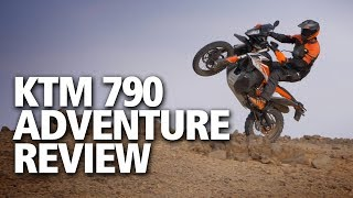 KTM 790 Adventure / Adventure R review | First launch report