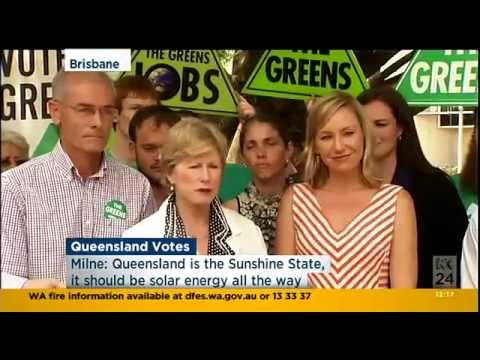 #QLDvotes tomorrow - Greens: We are a people-powered party.