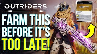 OUTRIDERS - How T๐ Make The Most Out Of The Free Demo & Get Free Legendary Loot (Outriders Tips)