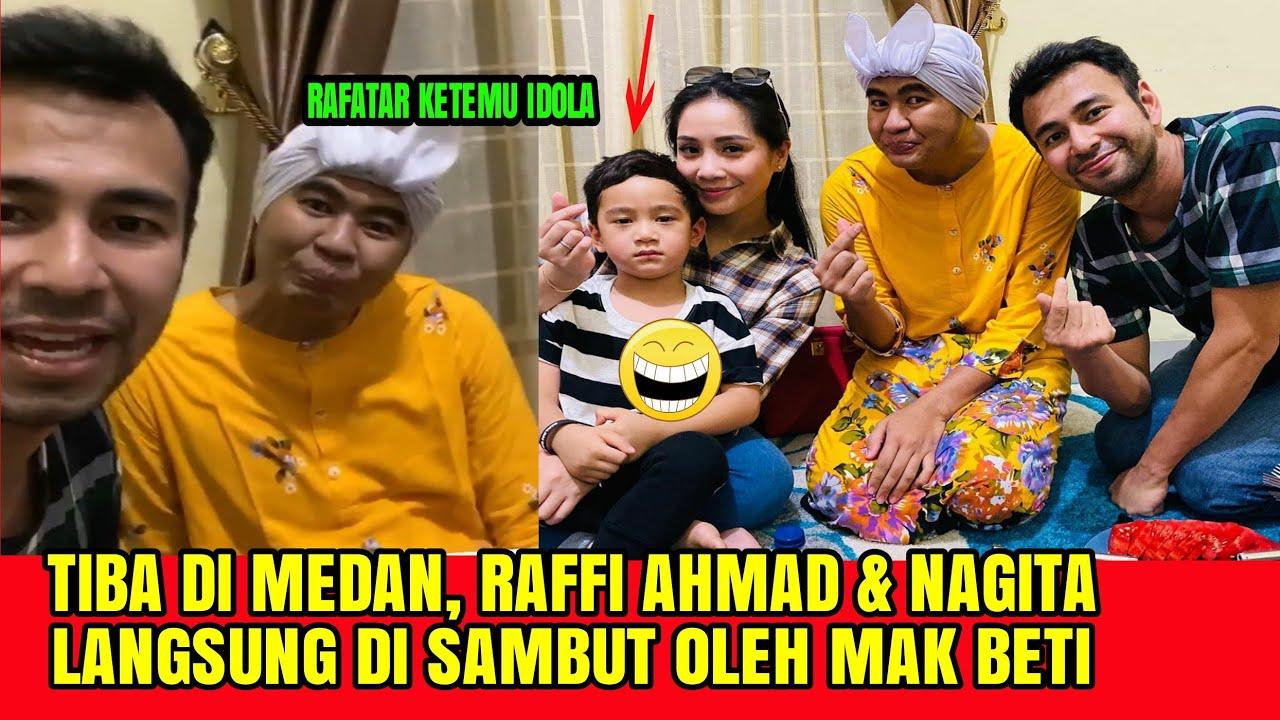 Tiba Di Medan, Raffi Ahmad & Nagita Langsung Di Sambut Oleh Mak Beti