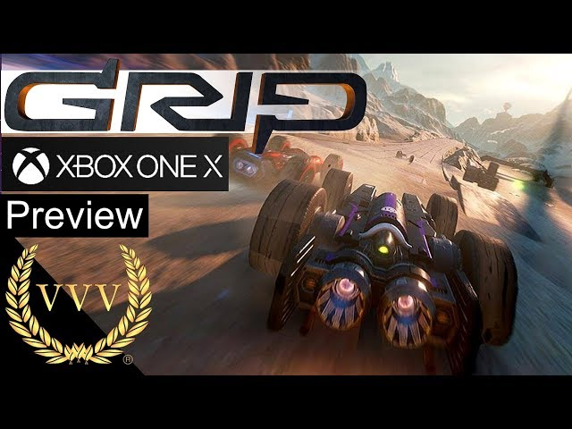 GRIP: Combat Racing Xbox One X Gameplay Preview