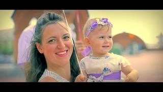 Красивый клип с Крещения ребенка в Храме Москва. Видеосъемка обряда Крещения