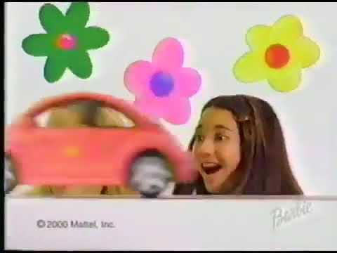 2000 Barbie Volkswagen New Beetle Commercial